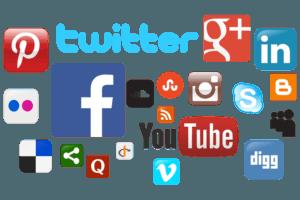 social media pages design